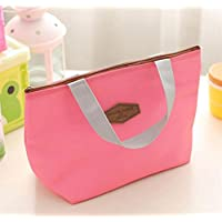 Preisvergleich für Yudanwin Leinwand-Lunch-Tasche Taschentuch Insulation Package Lunch Bag