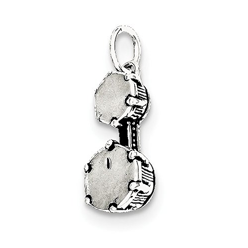 Bongo Trommeln Charm Schmuckanhänger Sterlingsilber - JewelryWeb