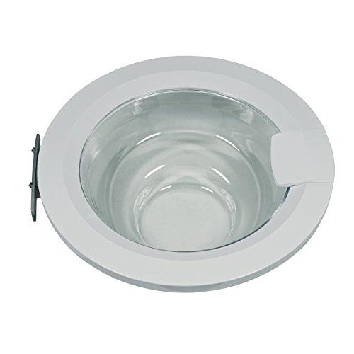 Bosch Siemens 00704285 704285 ORIGINAL Tür Außentür Bullauge Waschmaschinenbullauge Fenster Bullaugentür Waschgerätetür komplett weiß Waschmaschine Waschautomat -
