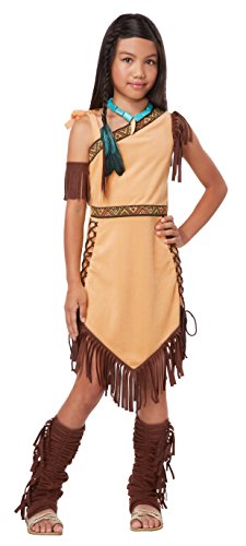California Costumes Native American Princess Child Costume,Brown,Small by California Costumes (Prinzessin Native)