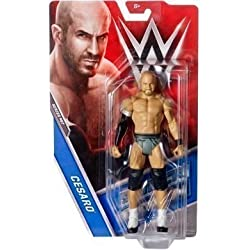 WWE Serie Basic 67 Action Figure - Cesaro ' il King Of The Oscillante'