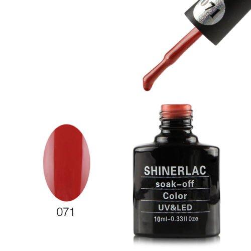 Shinerlac UV LED Gel auflösbarer Nagellack - SH071, 1er Pack (1 x 10 ml)