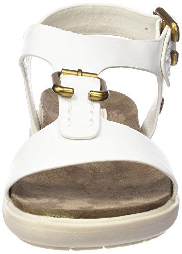 Wrangler Magnolia T-bar, Salomés femme Blanc - Weiß (51  White)