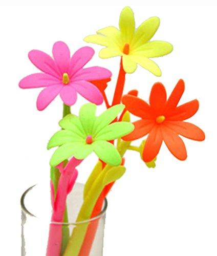 Set von 12 Vivid Blumen-Gel-Feder mit Fragrance (Farbe Random)