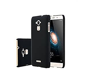 Premsons Rubberised Matte Hard Back Case Cover For Coolpad Note 3 Lite (Black)