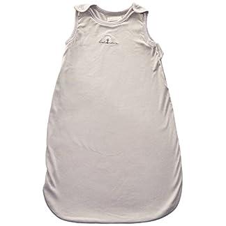 Eveil et Nature – Saco de dormir para bebé (70 cm de verano) color gris