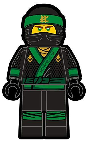 Character World Lego Ninjago Lloyd 3-D Kissen, 38x24x10cm, 100{251a4d51407cf83c1121036967c49b72d4aa96afa50284a56c974fc03b2285d1} Polyester