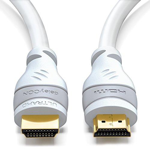Preisvergleich Produktbild deleyCON 7,5m HDMI Kabel - kompatibel zu HDMI 2.0a/b/1.4a - HDR / 3D / ARC / UHD 4K 2160p / Full HD 1080p / HD Ready - High Speed mit Ethernet