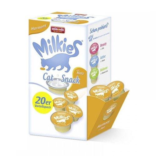 Animonda-Milkies-Harmony-Kapseln-20-x-15g-Vorratspackung-Katzensnack