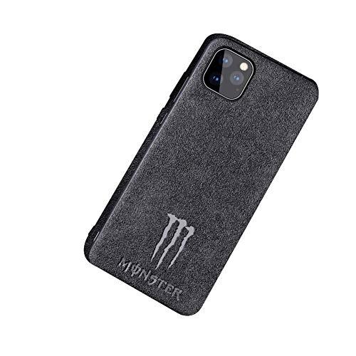 Preisvergleich Produktbild KKSY Hülle für iPhone Wildleder grau Magic Catch Persönlichkeit wasserdicht und stoßfest iPhone 11 / 11 Pro / 11 Pro Max (84459157), iPhone11Pro