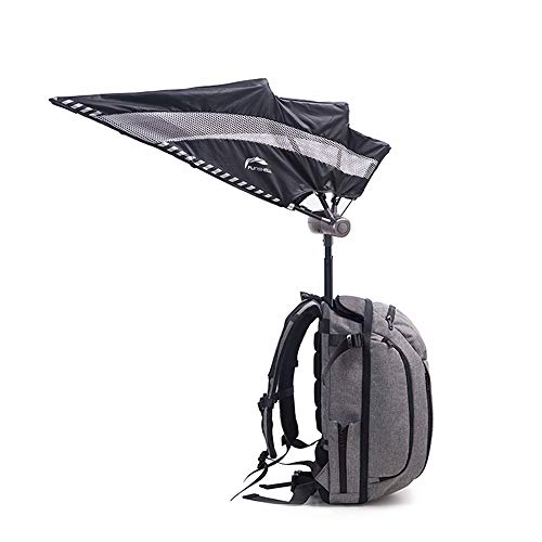 HYRL Rucksack Umbrella, Fotografie Rucksack Hand-Free Umbrella Wasserproof Camera Rucksack Umbrella UV-Schutz Business Series