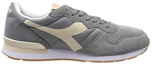Diadora Camaro, Sneaker Uomo Grigio (Gr Cenere Beige Candeggiato)