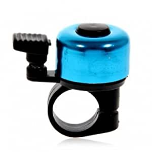 Guilty Gadgets ® - Blue Shade One Touch Bicycle Handle Bar Bell Ping Ring Lever Cysle Push Bike