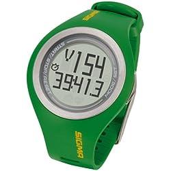 Sigma PC 22.13 - Pulsómetro para hombre, color verde