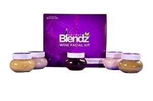 Secret Blendz Wine Facial Kit, 500 grms