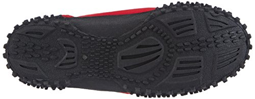 Playshoes - Badeschuhe, Aquaschuhe, Surfschuhe, Scarpe da spiaggia Unisex – Adulto Rosso (Rot (rot 8))