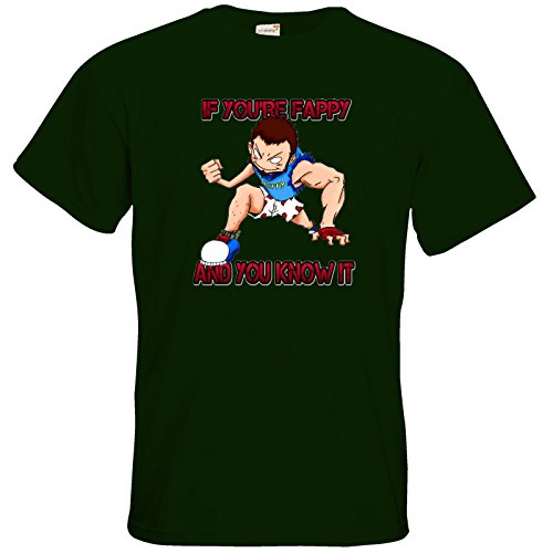 getshirts - Brudershop - T-Shirt - Fappypants Bottle Green