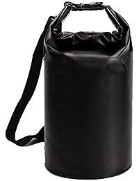 5L/10L/40L Premium impermeable bolsa, bolsa seca y largo ajustable correa de hombro incluida, perfecto para kayak/Boating/canoa/pesca/rafting/Natación/Camping/snowboard