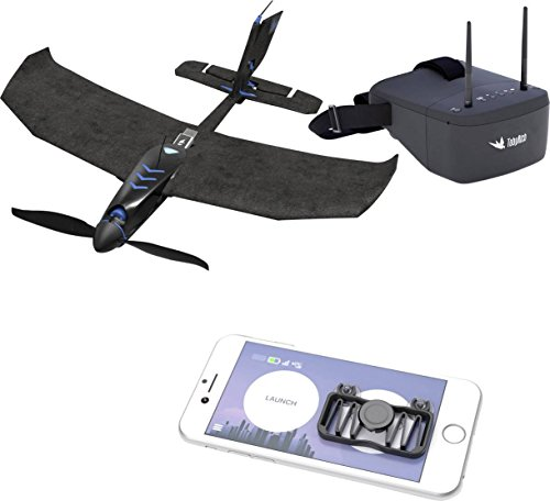 tobyrich smartplane Pro FPV : Smartphone Application gesteuertes VR Stunt Avion - Virtual Reality Drone à Distance pour iOS et Android