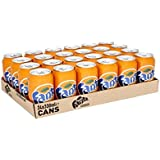 Fanta Refresco de naranja - Paquete de 24 x 330 ml - Total: 7920 ml