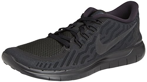 Nike Free 5.0  Damen Laufschuhe,Mehrfabig (Black/Black-Anthracite),40 EU