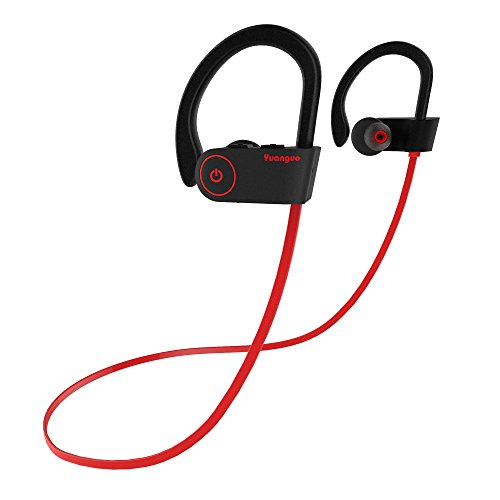 Cuffie bluetooth v4.1 arbily wireless bluetooth auricolare in-ear stereo sports noise cancelling cuffie sportive headphone per running/ impermeabile/ esercizio / sweatproof headset con microfono per ios, android, ipad, smartphone