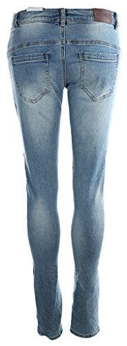 Blue Monkey Damen Jeans Sienna Blau