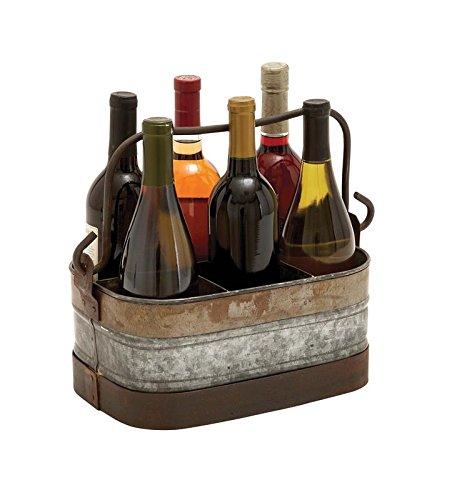 Deco 79verzinktem Metall Wein Halter, 14von 12Zoll
