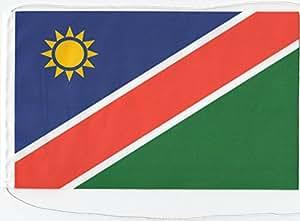 Tischflagge Tischfahne Namibia, ca. 10 x 16 cm