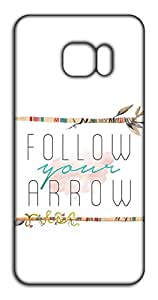 Happoz Follow Arrow 0 mobile cover Mobile Phone Back Panel Printed Fancy Pouches Accessories Z1368