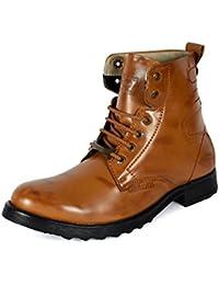Bacca Bucci Men TAN PU Boots