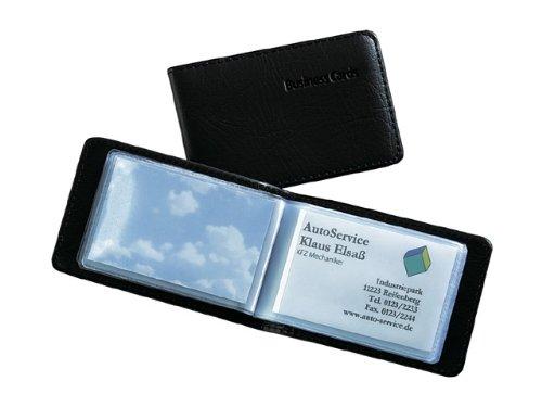 Sigel VZ170. Material: De plástico, Color del producto: Negro, Capacidad de las tarjetas: 40 tarjetas. Ancho: 110 mm, Profundidad: 75 mm, Altura: 12 mm Peso y dimensiones -Ancho: 110 mm -Profundidad: 75 mm -Altura: 12 mm  Características -Material: D...