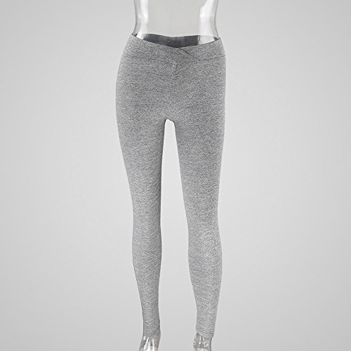 Ulanda-EU -  Pantaloni  - Donna Gray