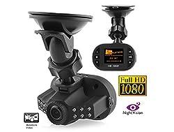 yagiwlan Mini-Autokamera Full-HD 1920x 1080Pixel DVR HDMI mit Recorder, Beschleunigungssensor, Nachtsicht