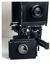 Adaptateur pour Nikon sur appareil photo grand format 4X5 Linhof Sinar