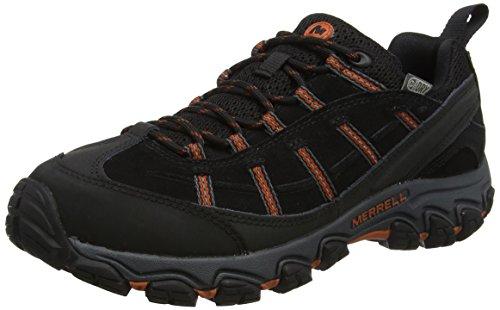 Merrell Terramorph Waterproof, Herren Trekking- & Wanderschuhe, Schwarz (Black), 42 EU (8 UK) (Wasserdichte Schuhe Herren Merrell)