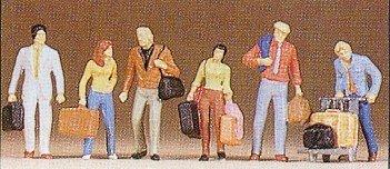 Preiser 10115 H0 Gehende Reisende