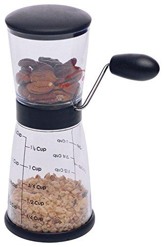 Westmark Nussmühle mit Messbehälter, Fassungsvermögen ca. 0,35 L/1, 25 Cup,...