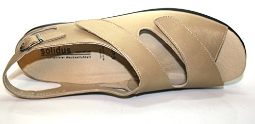 Solidus Gaby 710030 016 0077 Damen Sandalen Weite G Gold (sand)