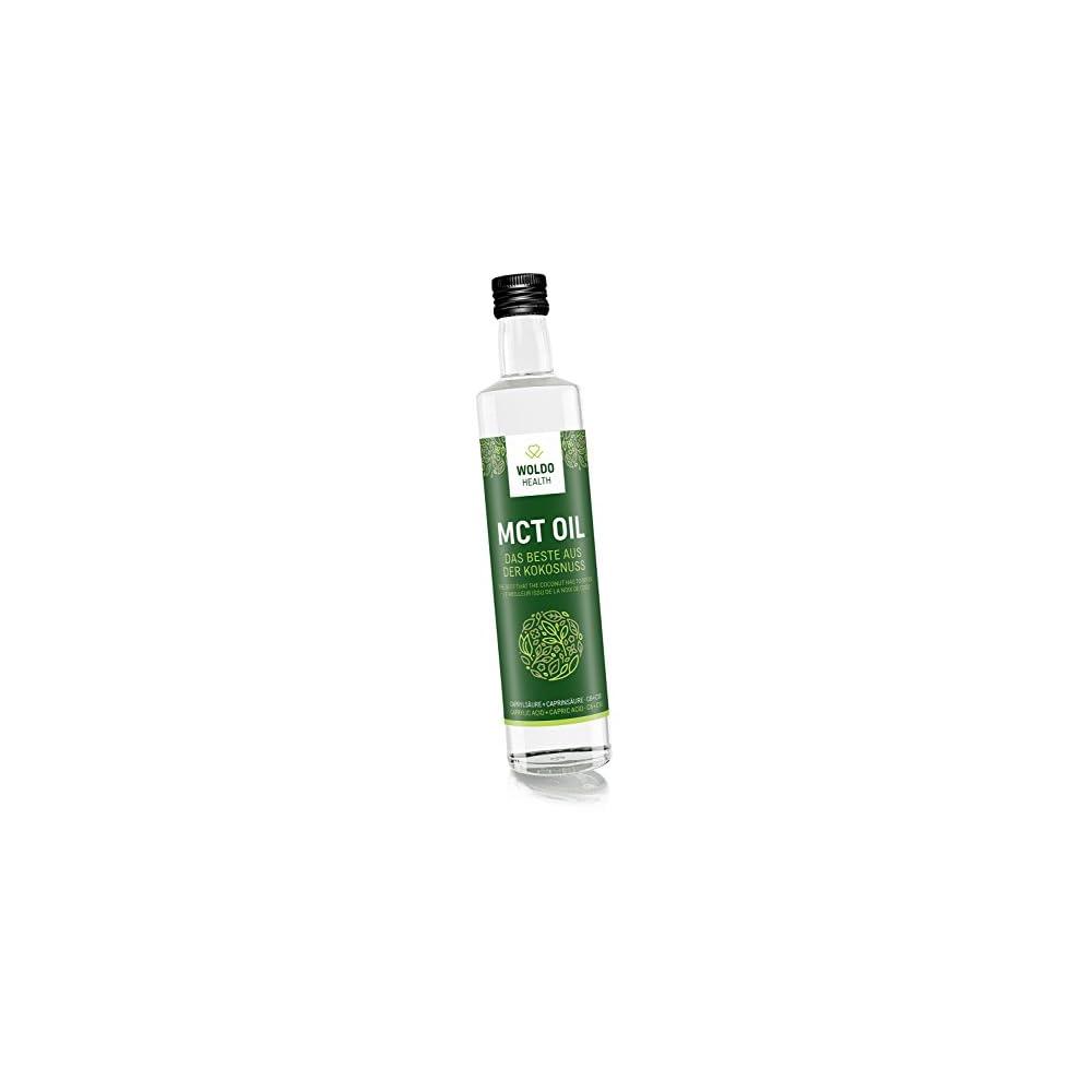 Woldohealth Mct L Auf Kokosl Basis Lichtgeschtzte Glasflasche Geschmacksneutral C8 Und C10