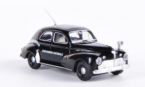 Peugeot 203, Gendarmerie Nationale - Secours Routier, Polizei (F) , Modellauto, Fertigmodell, Brekina Drummer 1:87