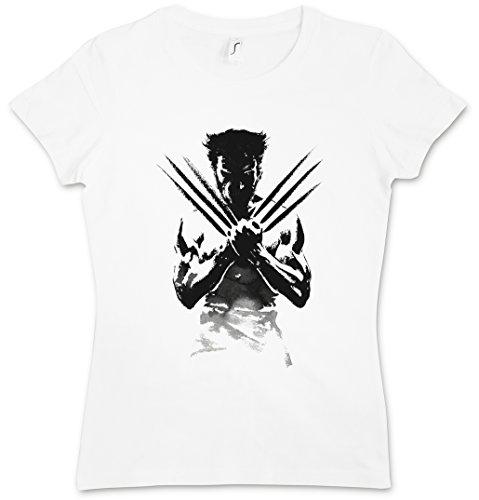 WOLVERINE SHADOW WARRIOR WOMAN GIRLIE DONNA T-SHIRT - Origins X-Men Hugh Logan Jackman Taglie XS - 2XL