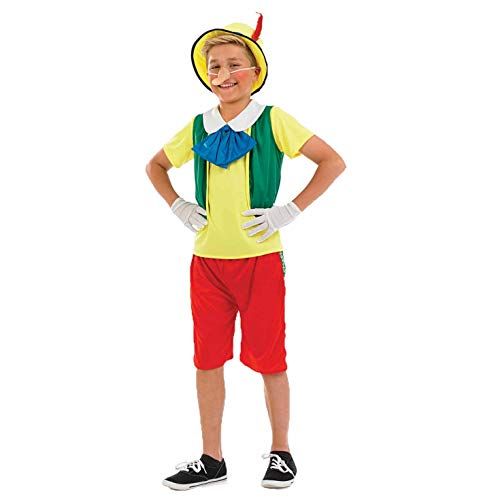 Fun Shack- Costume Ragazzi, Real Boy Puppet, s, FNK3585S-US