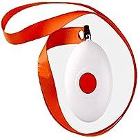 ZAIYI Notruftaste Rote Türklingel Tragbare Drahtlose Fernbedienung Anrufer Sling Bell Home Patienten Notfall Alarm... preisvergleich bei billige-tabletten.eu