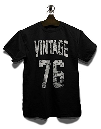 Vintage 1976 T-Shirt Schwarz