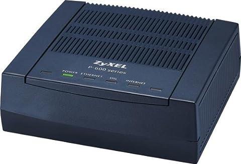 ZyXEL - 91-004-933001B- routeur + ADSL2 P-660R-Tx series - noir