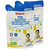 Pigeon Baby Laundry Detergent Liquid Refill Combo, 200ml, White/Red
