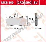 Bremsbelag TRW / Lucas MCB659SRQ, Sinter Road Racing ohne ABE für Kawasaki ZRX1200 R Baujahr 2005