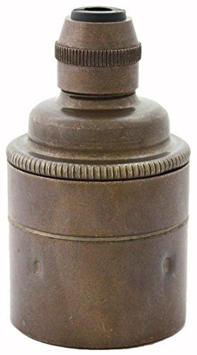 ES E27 Old English Brass -
