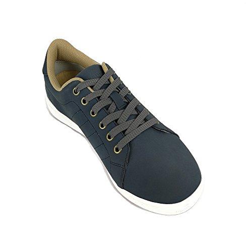 Zerimar Golf shoe fabriques dans la peau bovine sports et confortable Casual Running Couleur Blue marine Taille 41